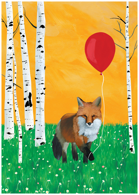 Foxy Birthday by Scott Church